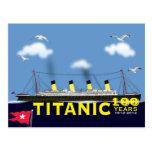 Titanic Tragedy  Anniversary  Postcard