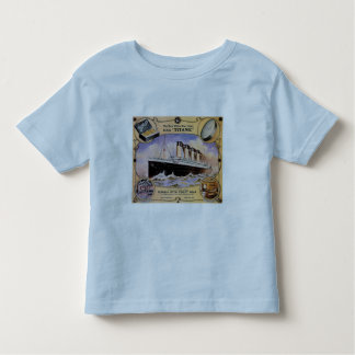 Titanic Vintage Soap Ad Toddler Ringer T T Shirt