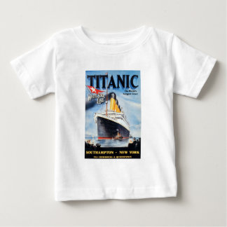 Titanic White Star Line Poster T Shirt