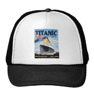 Titanic White Star Line Poster Trucker Hat
