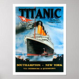 Titanic-World's Largest Liner! Poster