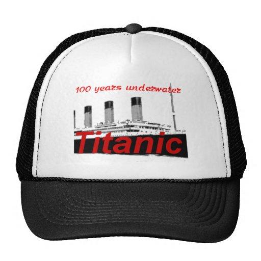 Titánico: 100 años de subacuático gorros