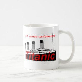 Titánico: 100 años de subacuático taza de café