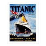 Titánico el trazador de líneas más grande del mund tarjeta postal