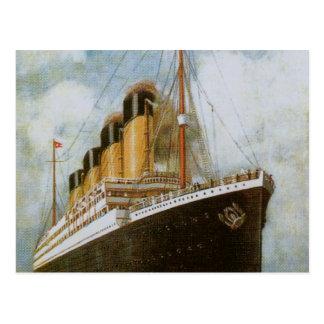 Titánico en el mar postales