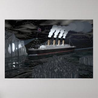 Titánico - fecha con destino poster