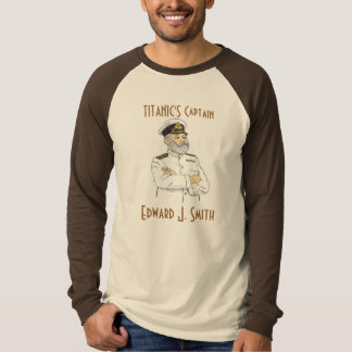 Titanic's Captain Edward J. Smith T-Shirt