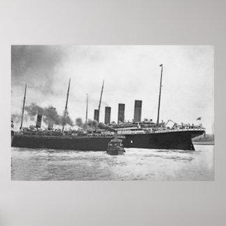 Titanic's Near Miss Poster
