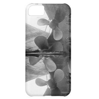 Titanic's propellers iPhone 5C cases