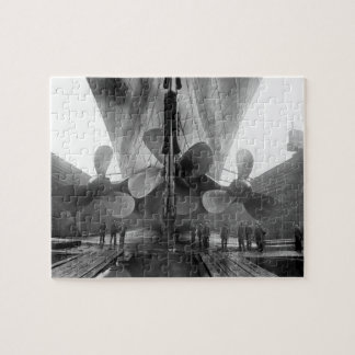Titanic's propellers jigsaw puzzle