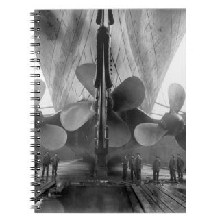 Titanic's propellers notebook