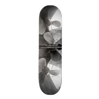 Titanic's propellers skate boards