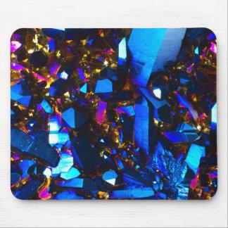 Titanium Cobalt Blue Quartz Mouse Pad