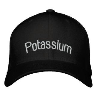 Titanium Embroidered Baseball Caps