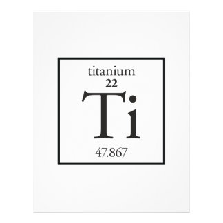 Titanium Flyer Design