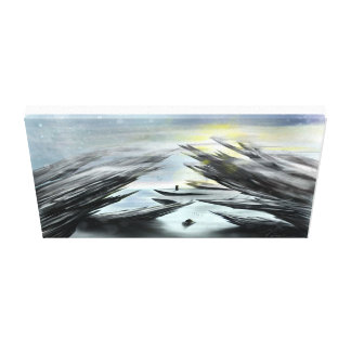 Titanium Landing Canvas Print