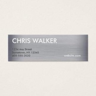 Titanium metal texture mini cards