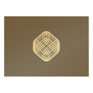 Titanium - Sophisticated Wire Large Business Cards (Pack Of 100)