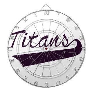 Titans Dartboard