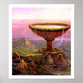 Titan's Goblet by Thomas Cole Print