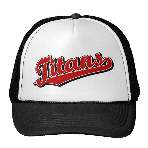 Titans in Red Mesh Hats