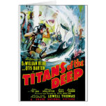 Titans of the Deep Greeting Cards