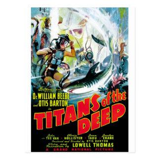 Titans of the Deep Postcard