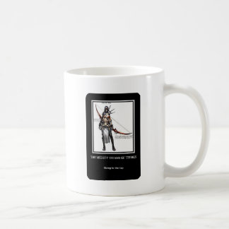 Titans of Thebes Classic White Coffee Mug