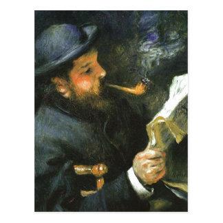 Titel: Portr?t Claude Monet K?nstler: Pierre-Augus Postcard