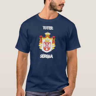 Titel, Serbia with coat of arms T-Shirt