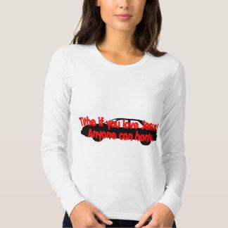 Tithe if you love Jesus...Anyone can honk! Shirt