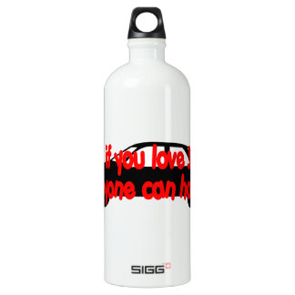 Tithe if you love Jesus...Anyone can honk! SIGG Traveler 1.0L Water Bottle