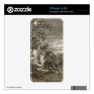 Tithonus, Aurora's Husband, Turned into a Grasshop Decal For The iPhone 4S