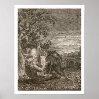 Tithonus, Aurora's Husband, Turned into a Grasshop Poster