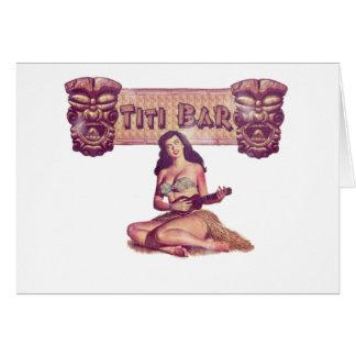 TITI BAR CARD
