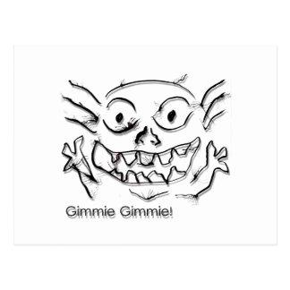 TiTi DoodleNut Gimmie 0005 - Postcard