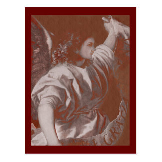 Titian Annunciation Angel with a Banner Postcard