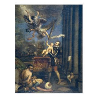 titian art post cards
