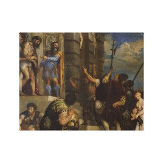 Titian - Ecce Homo Canvas Print