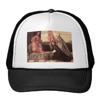 Titian: Papa Alejandro IV que presenta a Jacopo Pe Gorros Bordados