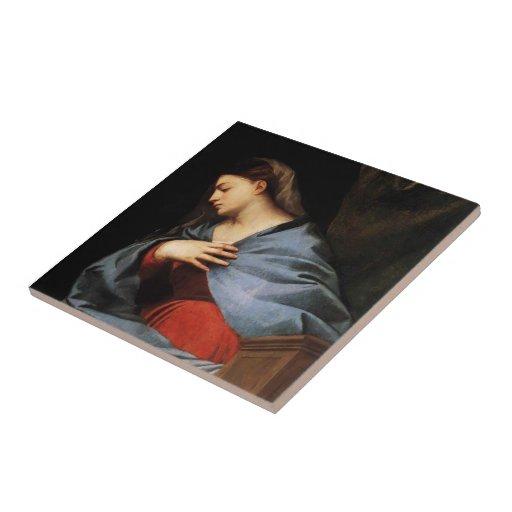 Titian- Polyptych de la Virgen de la resurrección Azulejos