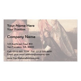Titian:Pope Alexander IV Presenting Jacopo Pesaro Double-Sided Standard Business Cards (Pack Of 100)
