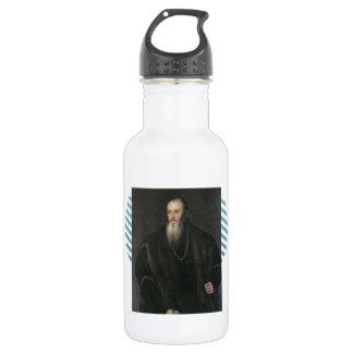 Titian - Portrait of Nicolas Perrenot of Granvelle 18oz Water Bottle
