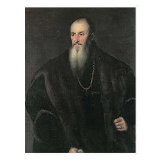 Titian - Portrait of Nicolas Perrenot of Granvelle Postcard