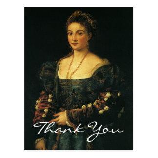 Titian s Duchess of Urbino Postcard