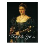 Titian's Duchess of Urbino Postcard