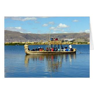 titicaca boat card