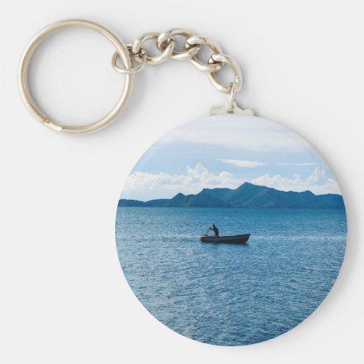 Titicaca lake key chains
