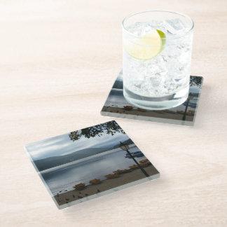 Titisee Lake Germany Glass Coaster