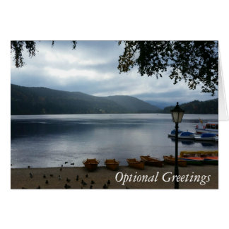 Titisee Lake Germany Greeting Card